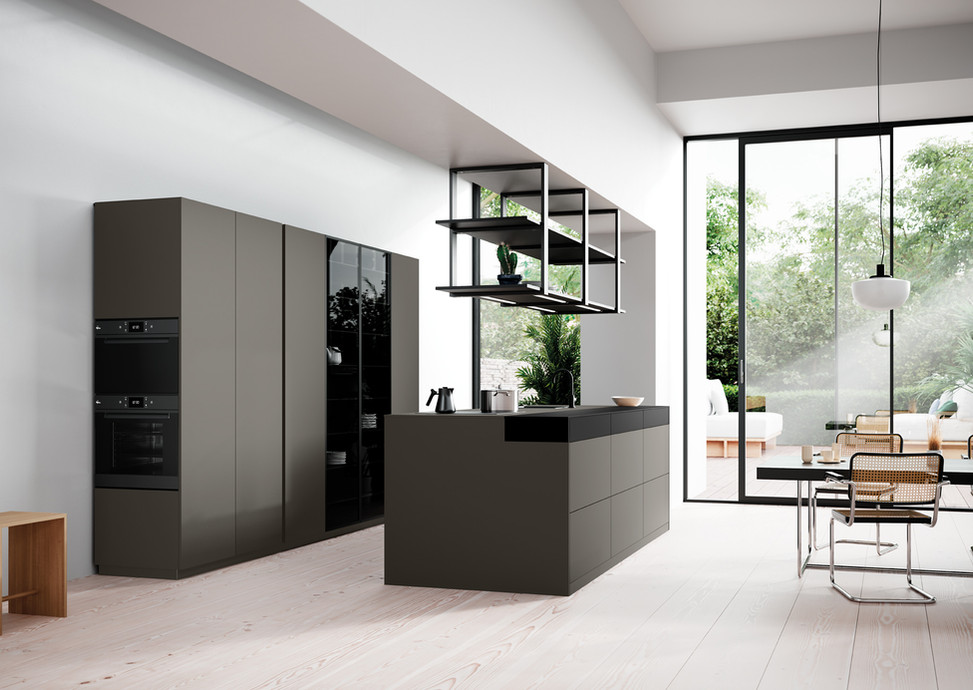 Rotpunkt Küchen Zerox HPL XT Clay Dark | Zerox HPL XT Black