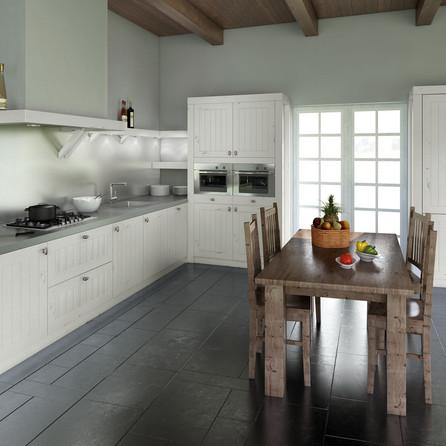 № RP 10 Кухня Rotpunkt Küchen Tempo - White OL