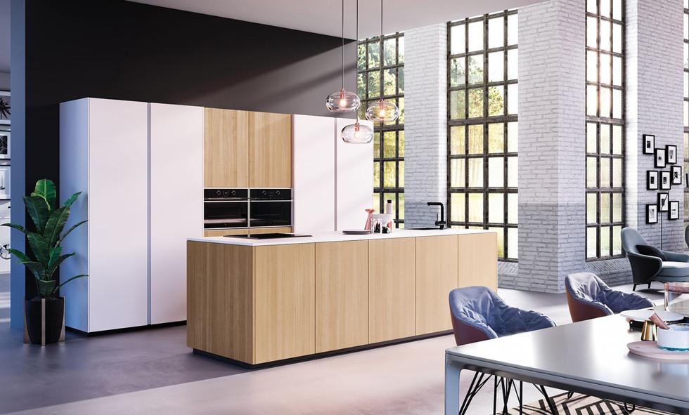 RotPunkt Küchen Slice Metal Line HQF