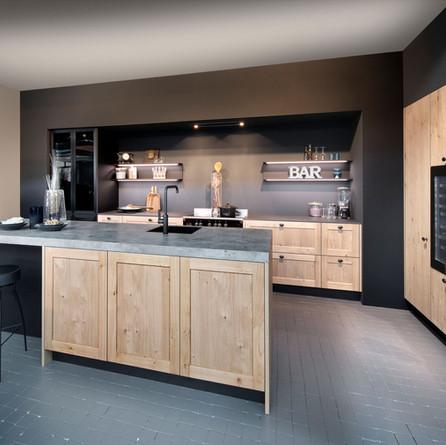 № RP 41 Кухня Rotpunkt Küchen Ergo - New Forest Oak FL | Memory - New Forest Oak FL