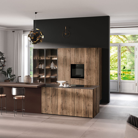 № RP 57 Кухня Rotpunkt Küchen Zerox Edition SY - Tinfilled Oak SY