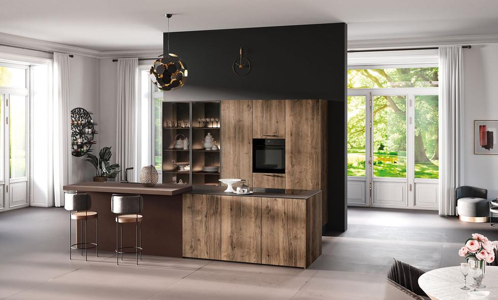RotPunkt Küchen Zerox Edition SY