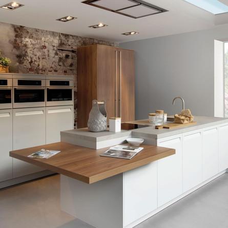 №  RP 13 Кухня Rotpunkt Küchen Informa - Daylight Grey MX | Zerox - Nogero XT