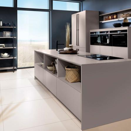 № RP 12 Кухня Rotpunkt Küchen Zerox - Terra Grey HPL XT