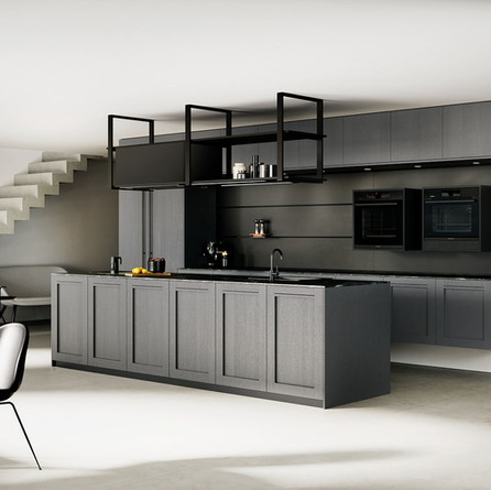 № RP 56 Кухня Rotpunkt Küchen Comfort FL - Lava | Memory FL Zero - Lava