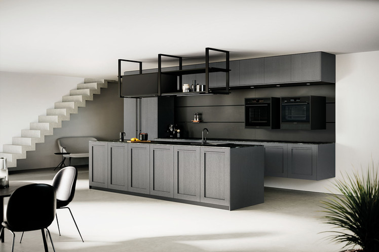 RotPunkt Küchen Comfort FL - Lava | Memory FL Zero - Lava