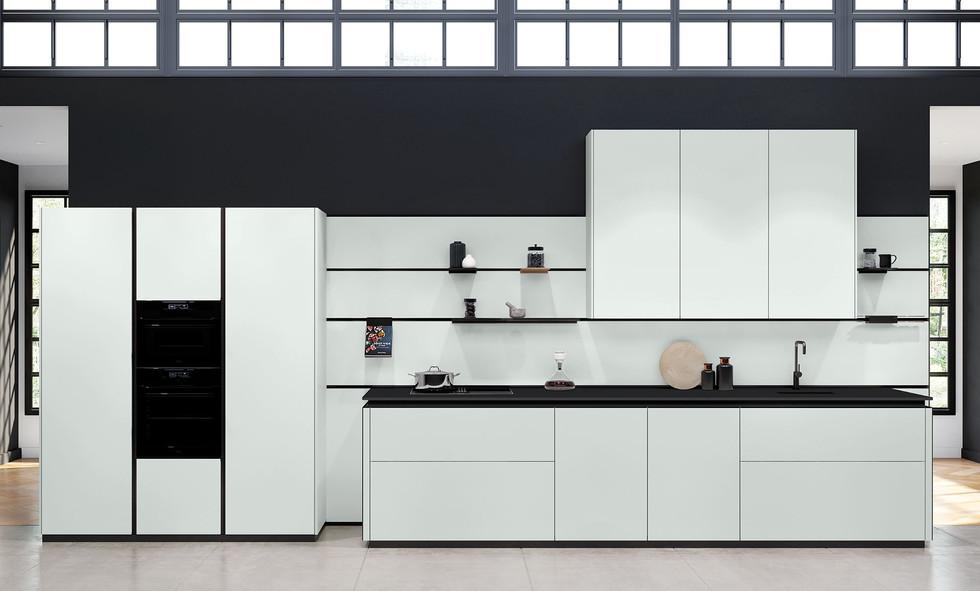 RotPunkt Küchen Zerox HPL XT - Daylight