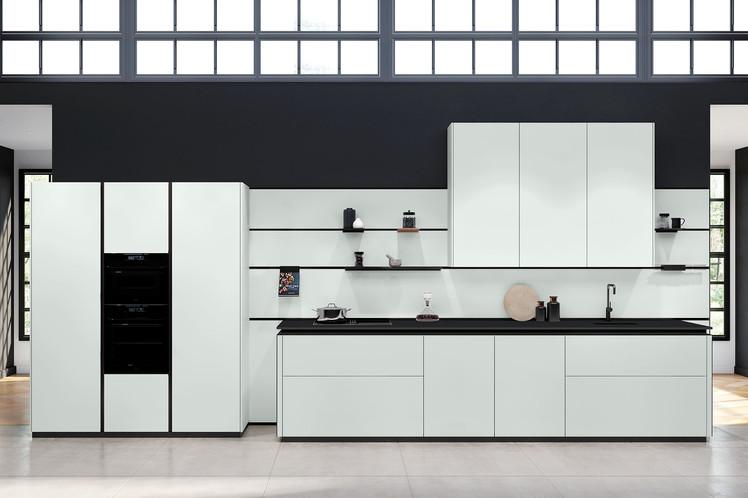 RotPunkt Küchen Zerox HPL XT - Daylight Grey