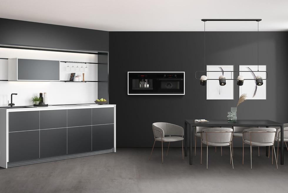 RotPunkt Küchen Slice Metal Line HQF XT