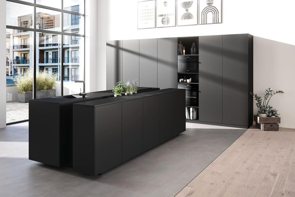 RotPunkt Küchen Core DM - Carbon Brushed