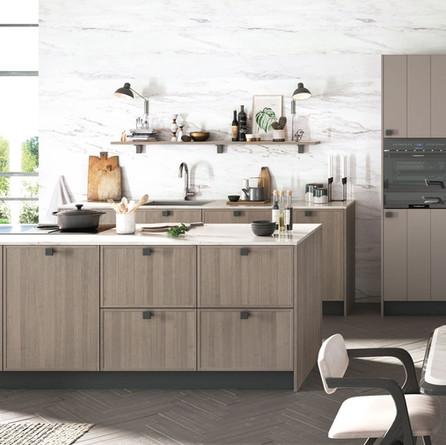 № RP 15 Кухня Rotpunkt Küchen Karo - City Grey Oak FM | Luxio - Terry Grey LX