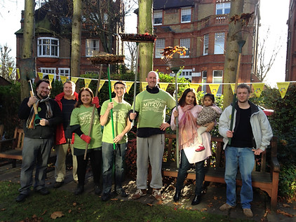 Mitzvah Day at the Marie Curie Hospice