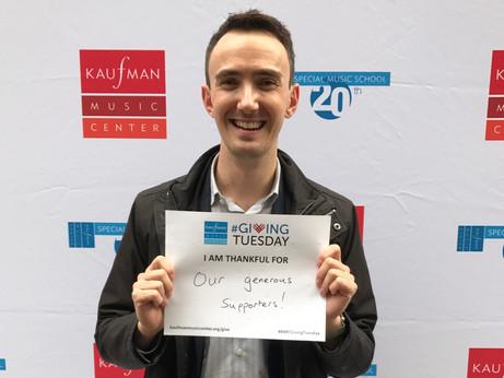 #GivingTuesday - Kaufman Music Center