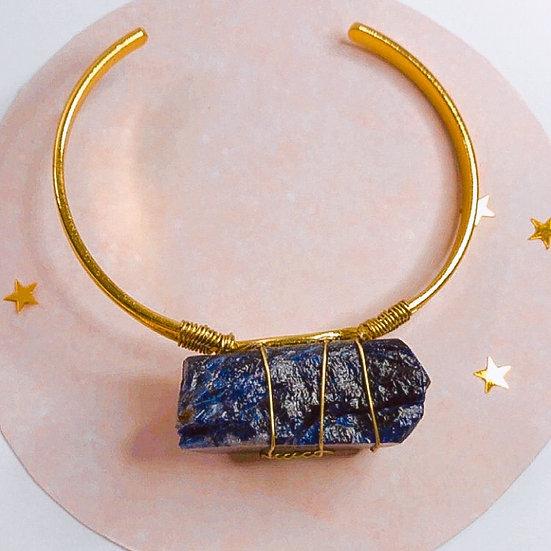 Bracelete de lapis lazuli