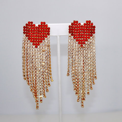 Ruby Heart Drip