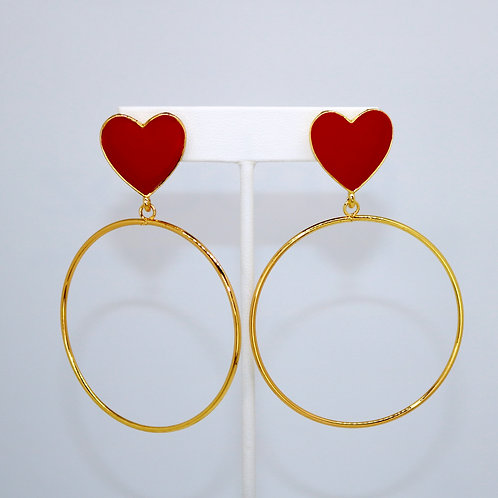 Red Heart Hoops