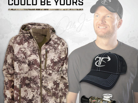 TrueTimber® Celebrates Anniversary of Earnhardt Jr. Partnership with a Fan Giveaway