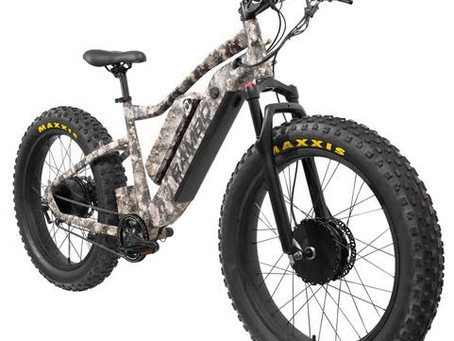 TrueTimber® Camo Featured on New and Upgraded Rambo Electric Bike Models for 2021