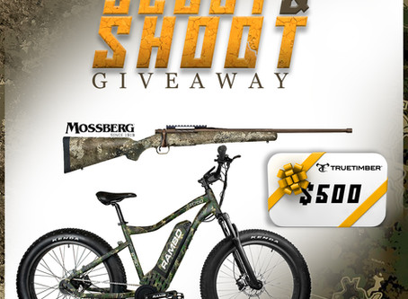 TrueTimber® Teams Up with Partners Mossberg® and Rambo Bikes® for the Scoot and Shoot Giveaway