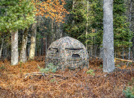 NEW TrueTimber® AirPack™ Inflatable Ground Blinds Feature Revolutionary Air Technology
