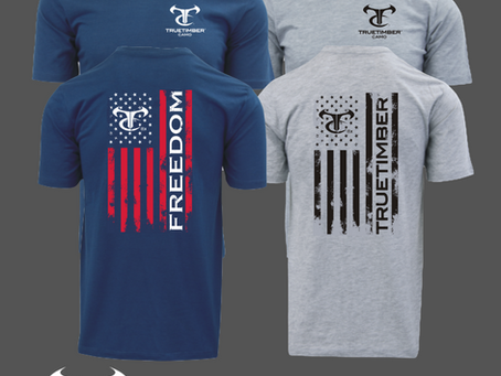 TrueTimber® Special Edition Fourth of July T-Shirt Sale