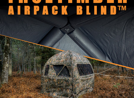 Industry First: TrueTimber® AirPack Inflatable Ground Blind