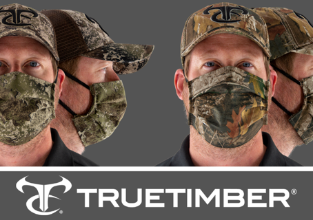 NEW TrueTimber® Camo Face Masks Now Available in Popular Patterns