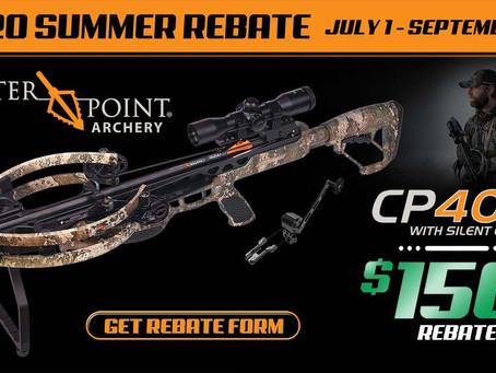 CenterPoint Archery® 2020 Summer Rebate Features CP400 Crossbow in TrueTimber® Strata Camo