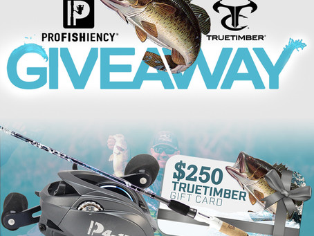 TrueTimber® and ProFISHiency Team Up for Spring Fishing Sweepstakes