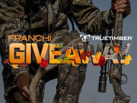 TrueTimber® Teams up with Franchi® for September Giveaway