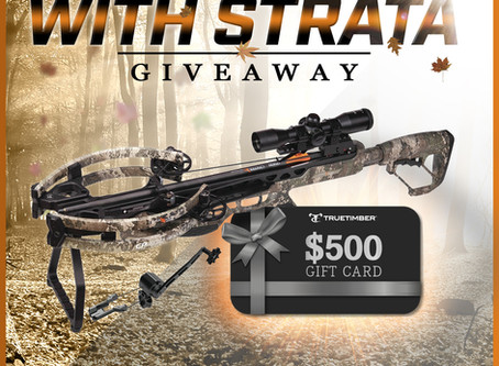 TrueTimber® Partners with CenterPoint Archery® for Crank up Fall with Strata Giveaway