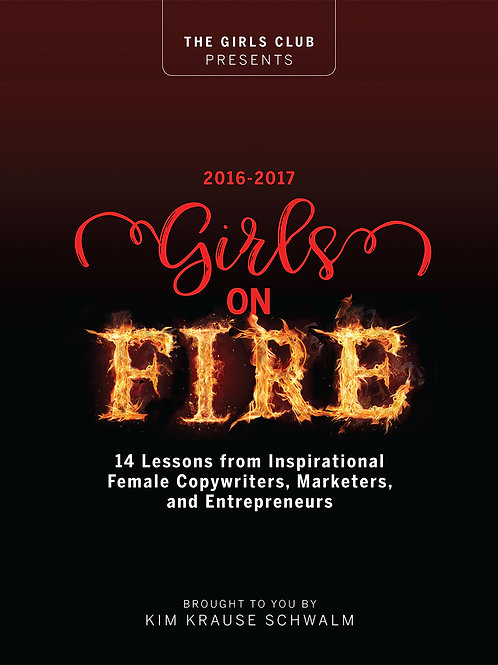 Girls on Fire Book 2016-17