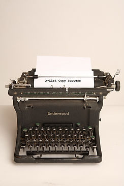 A List Copy Success typewriter