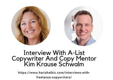 Haris Halkic Interview-With-Copywriter-Kim-Schwalm