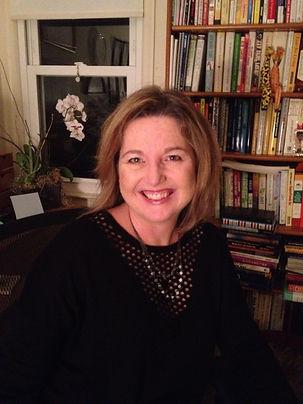 A-List Copywriter Kim Krause Schwalm in her home office