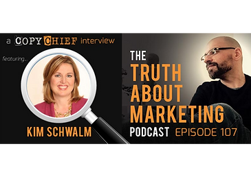 Kevin Rogers copychief interview with Kim Schwalm