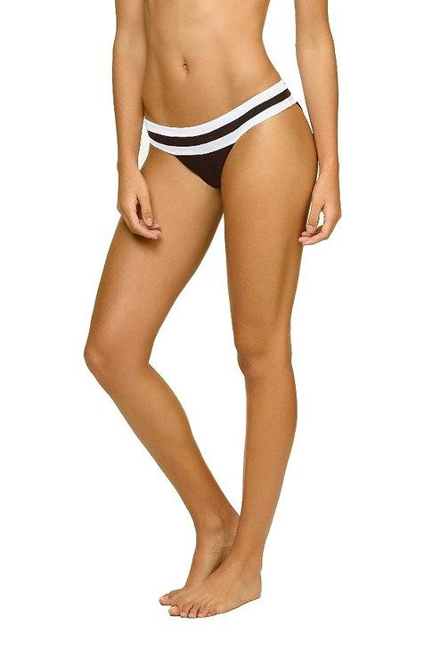 PilyQMidnight Banded Colour Block Bikini Bottom