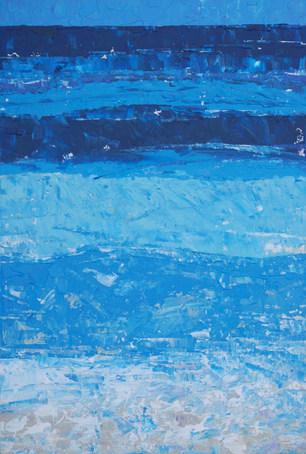 Stocking Island Blue  –  SOLD