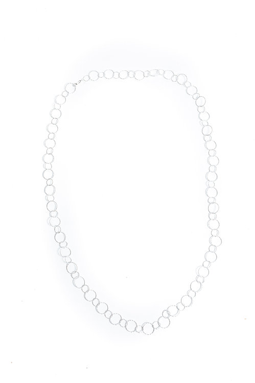 Round Here Silver Drop Chain