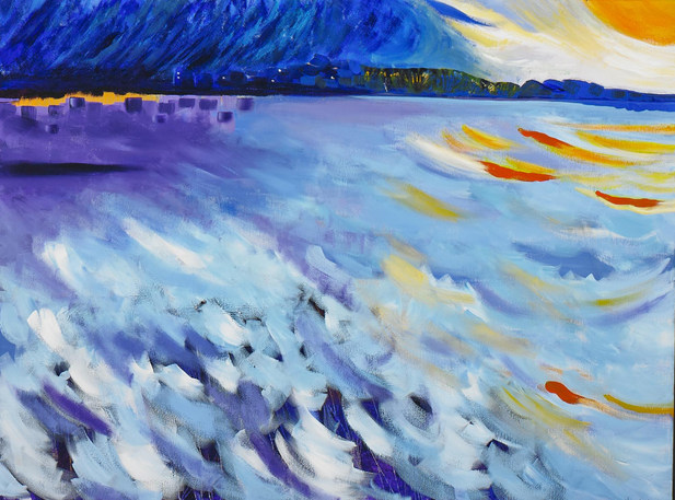 Storm on the Nile  –  SOLD