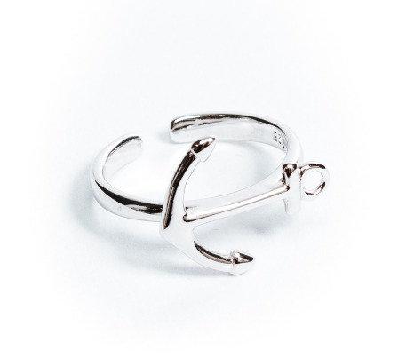 Anchored Toe Ring