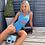 Thumbnail: Blue two piece Gym set