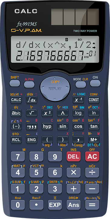 How to get standard form on your calculator