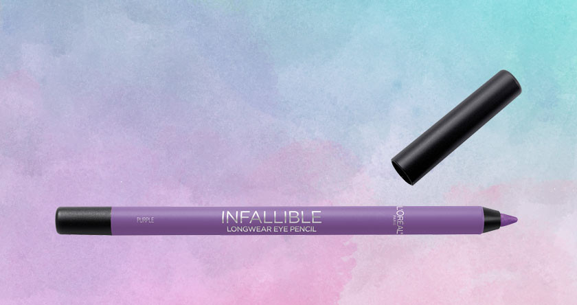 loreal paris purple eyeliner