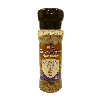 Salies de Bearn salt with Cepes
