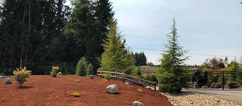 After HOA Landscape Installation -Hansville