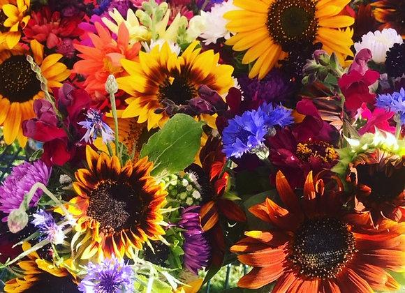 """""""Wild"""" Flower Bouquet"""