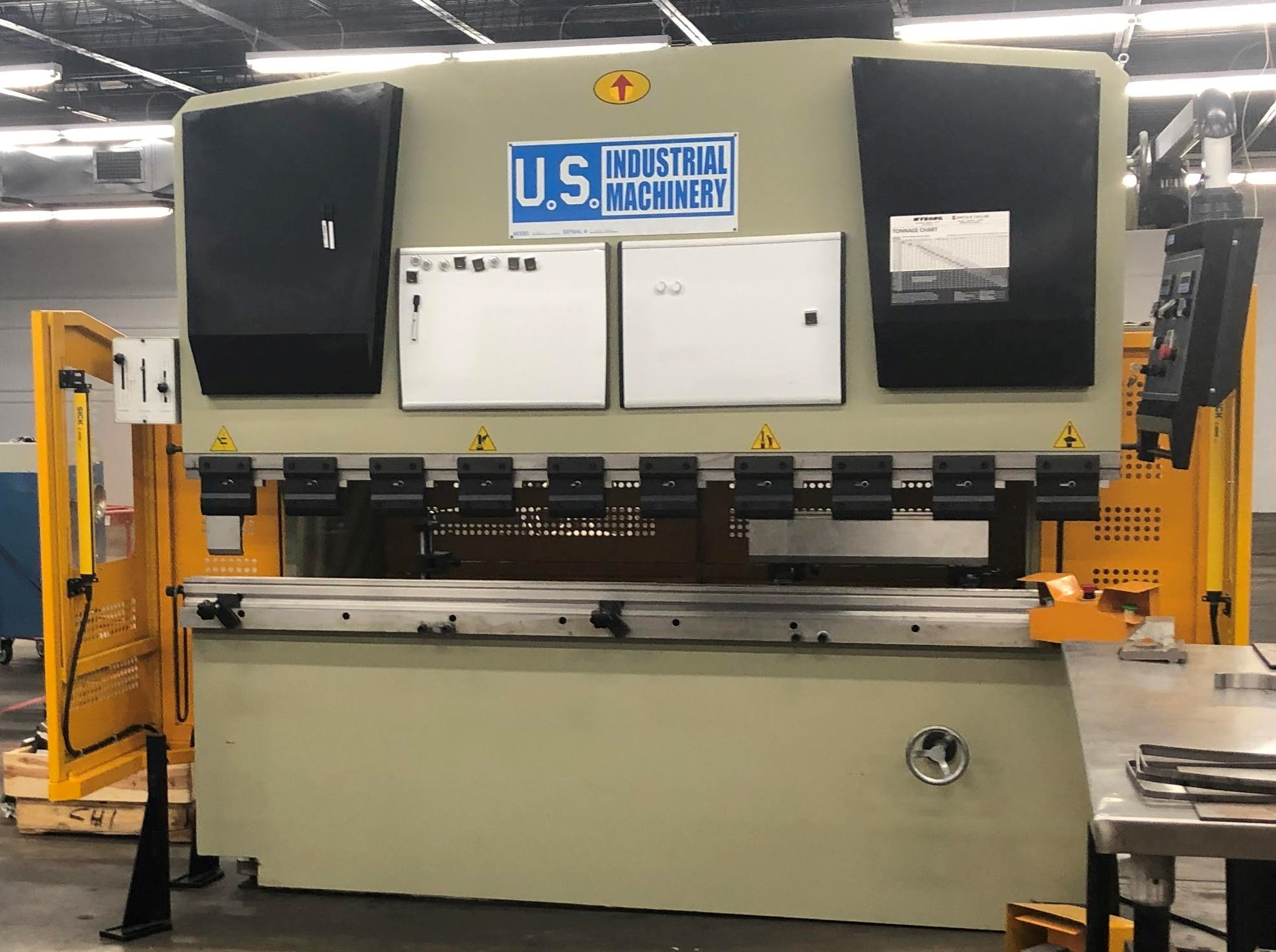 U.S. Industrial Press Brake