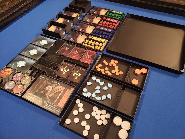 Dune Imperium insert /box organizer with individual player trays