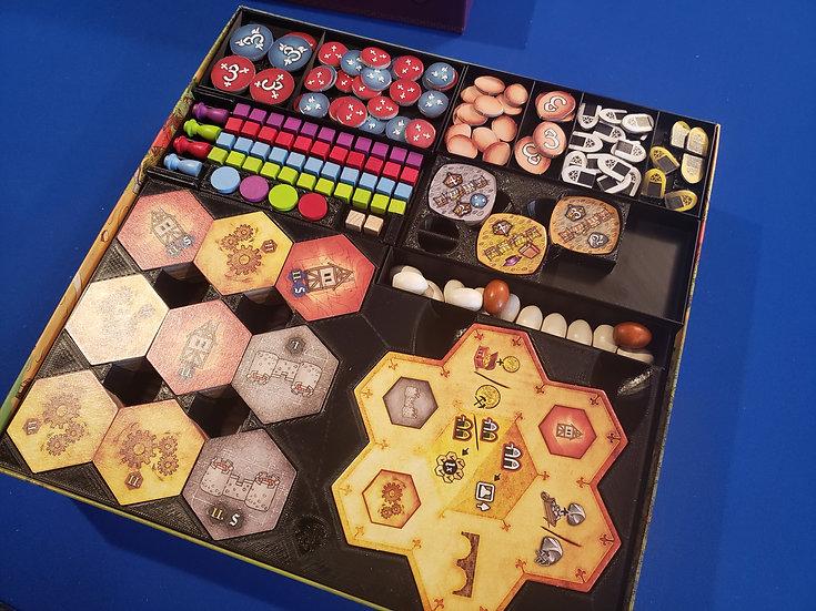 Praga Caput Regni board game insert / box organizer
